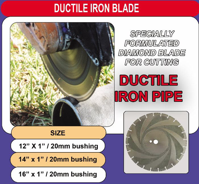 Ductile Iron Blades
